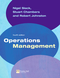 Operations Management Издательство: Financial Times Prentice Hall, 2003 г Мягкая обложка, 1 стр ISBN 0-27367-906-6 инфо 8087b.