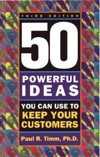 50 Powerful Ideas You Can Use to Keep Your Customers Издательство: Career Press, 2002 г Мягкая обложка, 160 стр ISBN 1564145999 инфо 8139b.